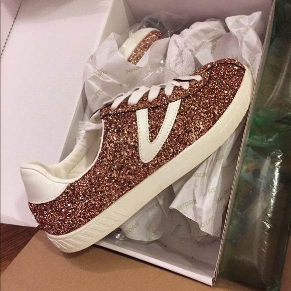 Tretorn Camden Glitter Sneakers NWT